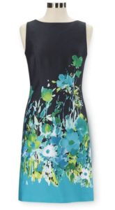 NorthStyle Floral Watercolor Sheath Dress $69.95