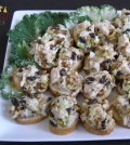 Chicken Salad with caramelized walnuts